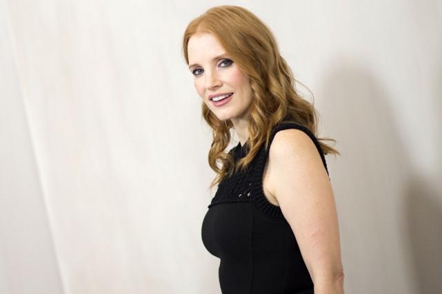 L'actrice Jessica Chastain veut rompre la culture de l'omerta dans une... (PHOTO ARCHIVES AFP)