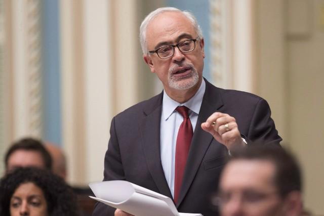 Le ministre des Finances du Québec, CarlosLeitão.... (Photo Jacques Boissinot, archives PC)
