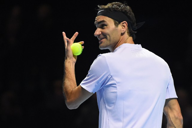 Roger Federer... (Photo Andy Buchanan, AFP)