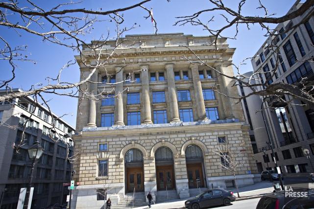 La Cour municipale de Montréal.... (PHOTO PATRICK SANFACON, archives LA PRESSE)