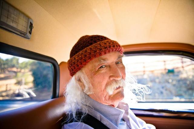 À 76 ans, David Crosby continue d'éprouver un... (Photo Anna Webber, fournie par evenko)