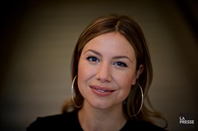 La comédienne Magalie Lépine-Blondeau... (Photo André Pichette, La Presse)