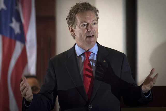 Le sénateur Rand Paul... (PHOTO ARCHIVES AP)