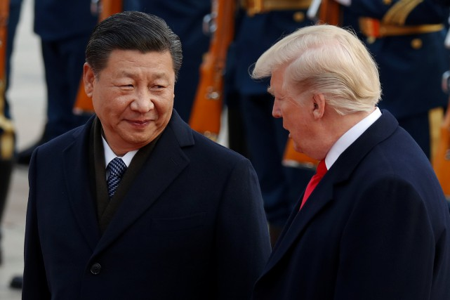 Donald Trump a appelé la Chine, qui assure... (REUTERS)