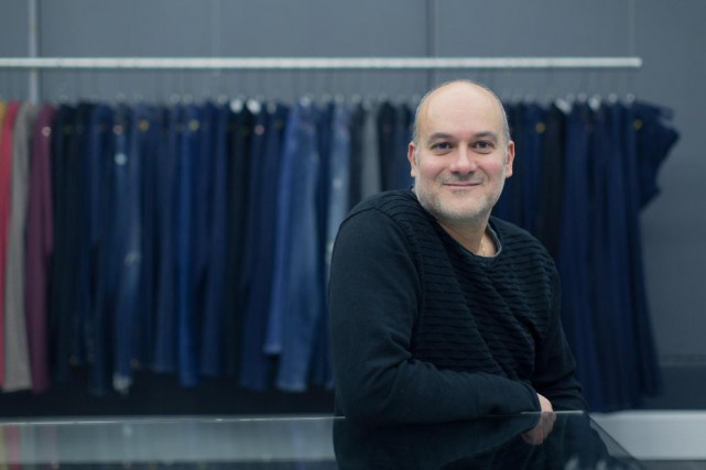 Eric Wazana, PDG et fondateur de Yoga Jeans,... (PHOTO EDOUARD PLANTE-FRÉCHETTE, ARCHIVES LA PRESSE)