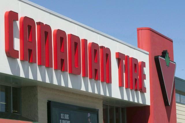 Canadian Tire a gonflé à 90 cents par... (THE CANADIAN PRESS)