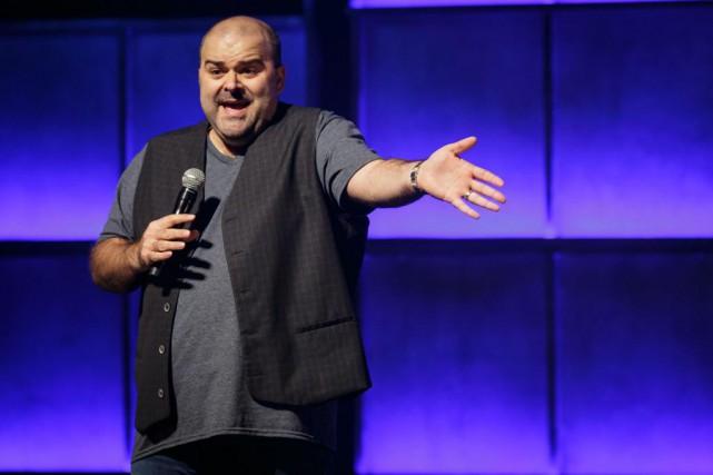 L'humoriste Laurent Paquin a présenté hier sonquatrième one-man-show,... (PHOTO OLIVIER JEAN, LA PRESSE)