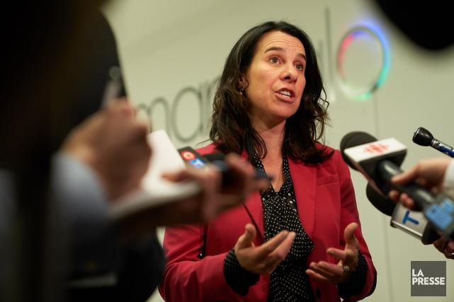 La nouvelle mairesse de Montréal, Valérie Plante.... (Photo André Pichette, La Presse)