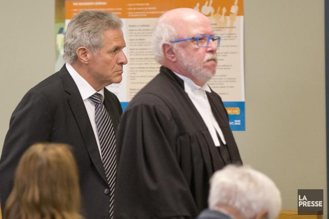 L'ex-entrepreneurTony Accurso et son avocat Marc Labelle... (Photo David Boily, archives La Presse)