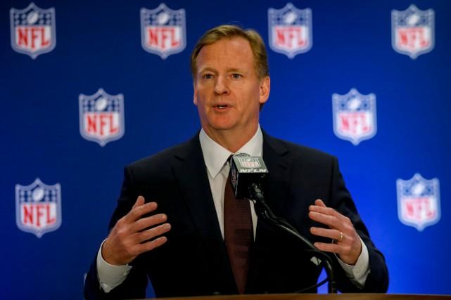 Le commissaire de la NFL, Roger Goodell.... (Photo Brendan McDermid, Reuters)