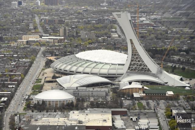 Le Stade olympique de Montréal... (Photo Bernard Brault, archives La Presse)