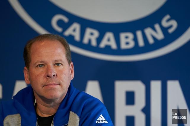 L'entraîneur-chef des Carabins de l'Université de Montréal, Danny... (Photo André Pichette, La Presse)