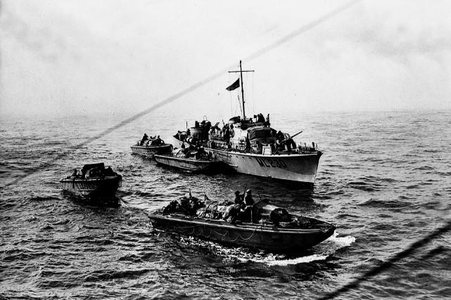 Des bateaux se sont retrouvés en difficulté à... (Photo archives La Presse canadienne)
