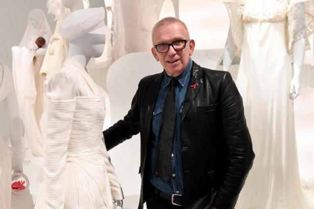 Le grand couturier français Jean Paul Gaultier... (Photo Bernard Brault, Archives La Presse)
