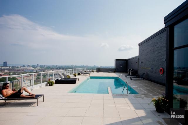 Du gym à la piscine extérieure chauffée à... (Photo Marco Campanozzi, Archives La Presse)