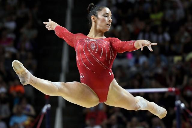 La gymnaste américaine Aly Raismana remporté six médailles... (Photo archives USA Today Sports)