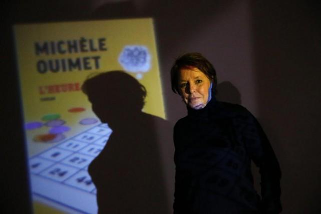 Michèle Ouimet, qui signe L'heure mauve, prendra une... (PHOTO Martin Chamberland, LA PRESSE)