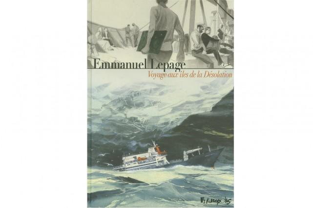 Voyage aux îles de la Désolation... (Image fournie par les éditions Futuropolis)