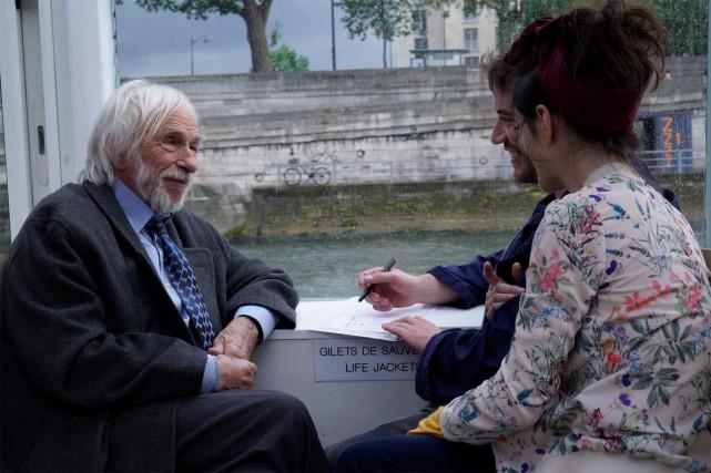 Pierre Richard dansUn profil pour deux.... (Photo fournie par MK2 l Mile End)