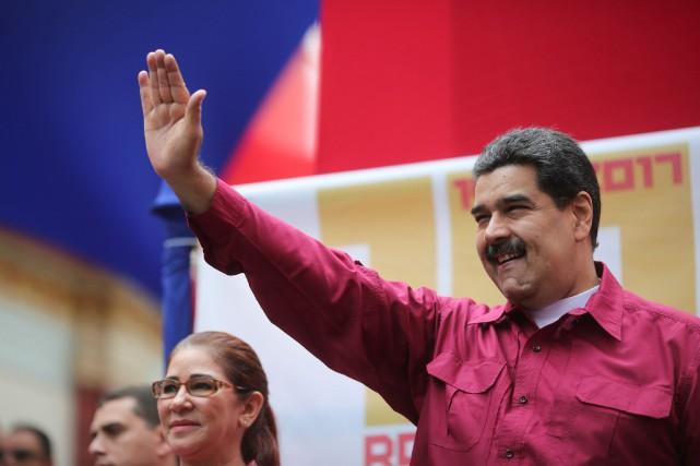 Les États-Unis espèrent qu'une réunion informelle sur le Venezuela, lundi à... (PHOTO ARCHIVES REUTERS/GOUVERNEMENT VÉNÉZUÉLIEN)
