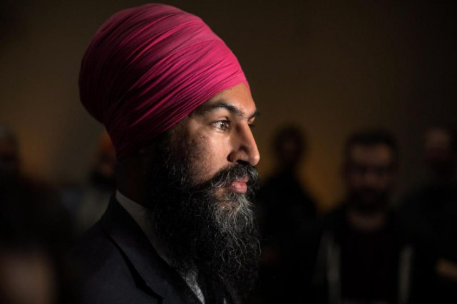 Jagmeet Singh a indiqué que des leaders progressistes... (Photo Chris Young, archives La Presse Canadienne)