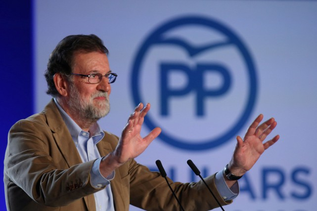 Mariano Rajoy... (PHOTO Albert Gea, REUTERS)