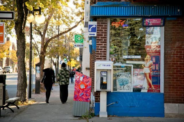 «La chute marquée du taux d'immigrants francophones est... (Photo David Boily, Archives La Presse)