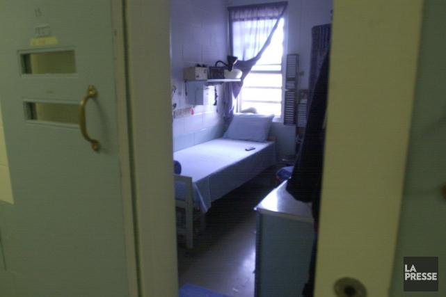 Une cellule de la prison de Cowansville.... (Photo archives La Presse)