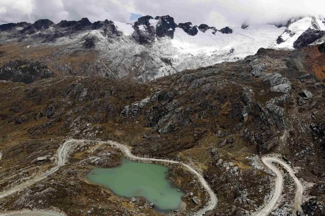 Dans le Parc national de Huascarán au Pérou,... (Photo Mariana Bazo, archives REUTERS)