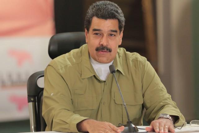 Nicolas Maduro... (PHOTO ARCHIVES REUTERS)