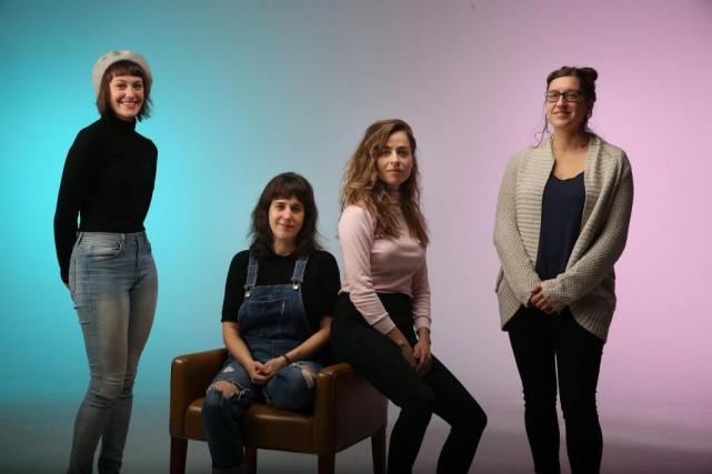 Marianne Dansereau, Sarah Berthiaume, Catherine Chabot et Catherine... (Photo Martin Chamberland, La Presse)