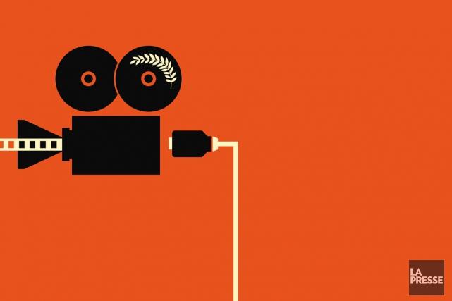 Même si le visionnement de films sur différentes plateformes a connu une... (Photomontage La Presse)