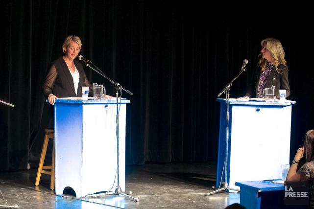 La candidate Josée Latendresse a déposé cette requête... (Photo Andre Pichette, archives La Presse)