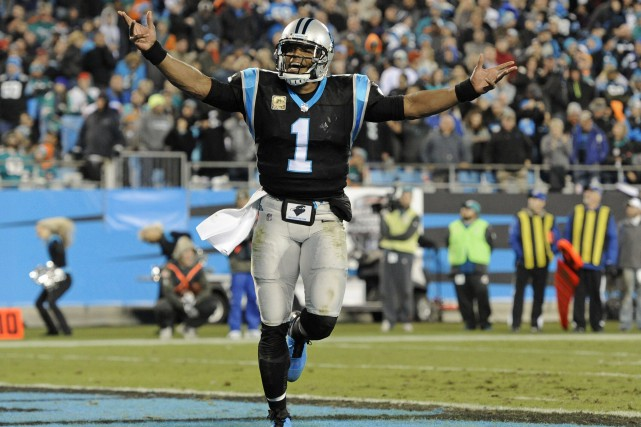 Cam Newton... (Photo Mike McCarn, Associated Press)
