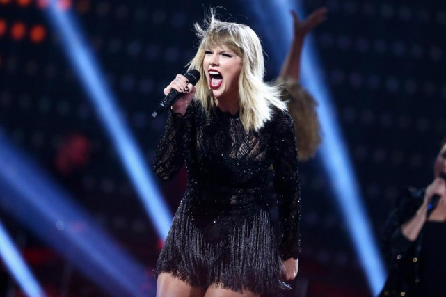 Taylor Swift... (PHOTO JOHN SALANGSANG, ARCHIVES ASSOCIATED PRESS)