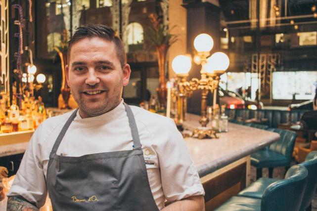 Le chef cuisinier islandais Viktor Örn Andrésson sera... (Photo fournie par Oliver & Bonacini)