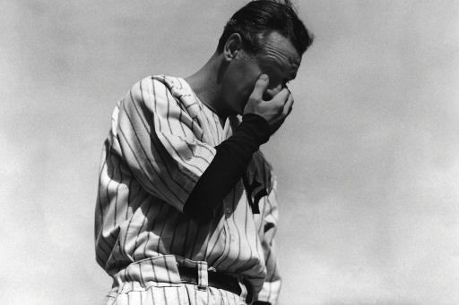Lou Gehrig en 1939... (Photo AP)