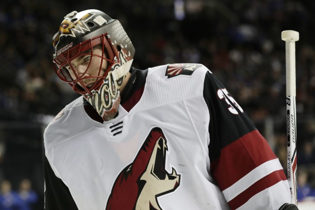 Louis Domingue... (Photo Frank Franklin II, AP)