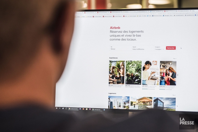 La plateforme Airbnb a annoncé mardi qu'elle allait... (Photo archives La Presse)