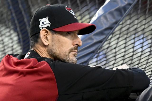Le gérant des Diamondbacks de l'Arizona,Torey Lovullo.... (Photo Mark J. Terrill, AP)