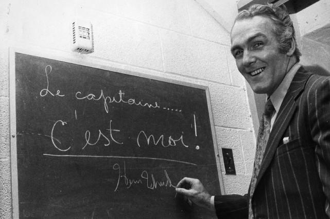 Henri Richard, ancien capitaine du Canadien, est né... (Photo archives La Presse)