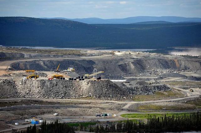 Dès décembre, le site minier voisin de Fermont... (photo archives fournie par cliffs natural resources)