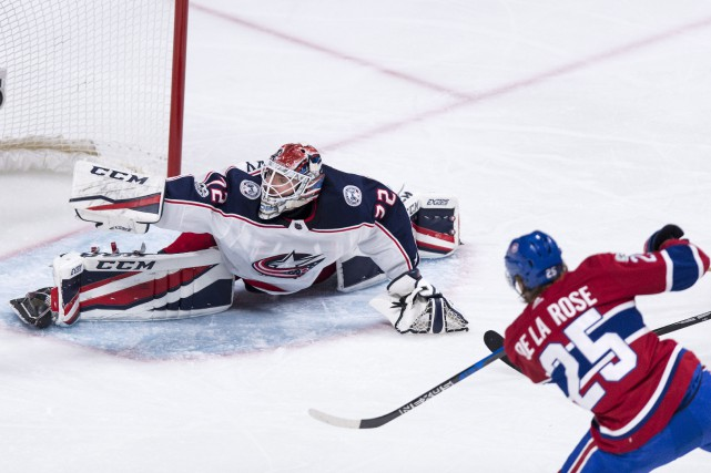 Le gardien des Blue Jackets Sergei Bobrovsky a... (Photo Paul Chiasson, PC)