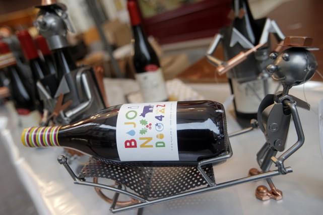 Un Beaujolais nouveau de 2014.... (Photo archives AP)