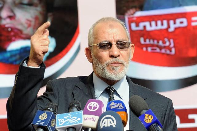 Mohamed Badie... (ARCHIVES AFP)