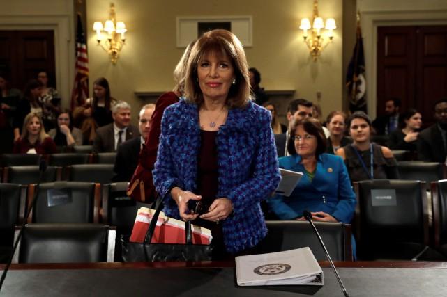 Jackie Speier, élue démocrate de Californie, a déclaré... (PHOTO REUTERS)