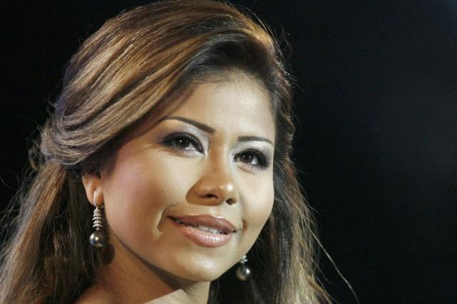 La chanteuse de pop égyptienne Sherine Abdel Wahab a été renvoyée devant la... (PHOTO ARCHIVES AFP)