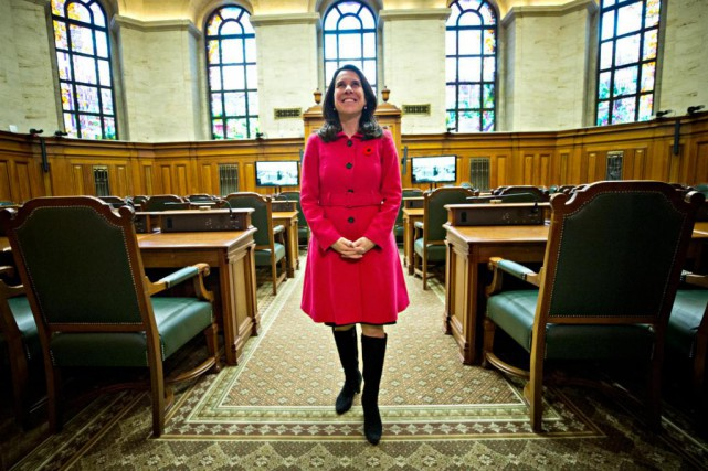 La nouvelle mairesse de Montréal, Valérie Plante, prêtera... (Photo Patrick Sanfaçon, Archives La Presse)