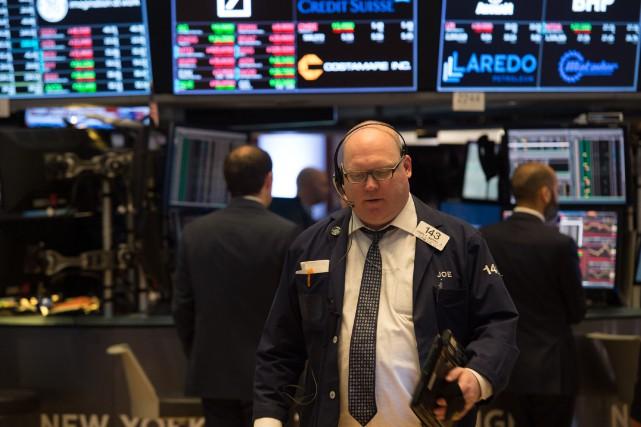 «Le marché a progressé après l'adoption du paquet... (AFP)