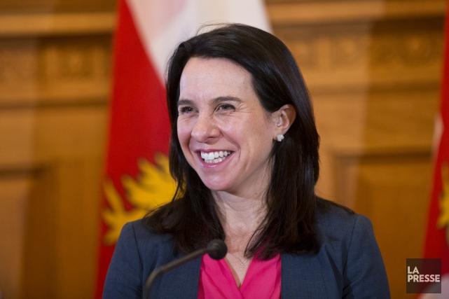 La mairesse de Montréal, Valérie Plante.... (Photo Patrick Sanfacon, archives La Presse)
